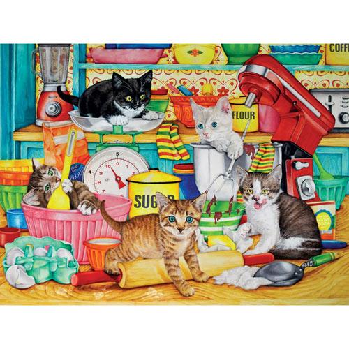 Kitchen Tails 300 Large Piece Jigsaw Puzzle