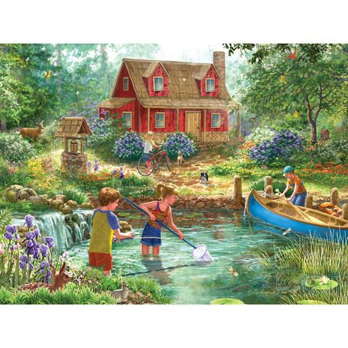 Summer Retreat 300 Large Piece Jigsaw Puzzle