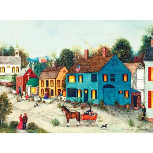 Village Main Street 1000 Piece Jigsaw Puzzle