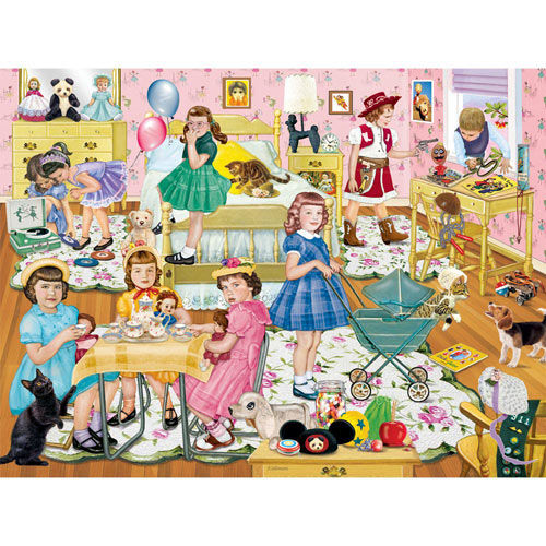 Smile for the Camera Cookie 500 Piece Jigsaw Puzzle