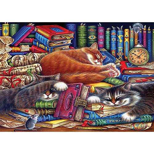 The Old Book Shop 300 Large Piece Jigsaw Puzzle