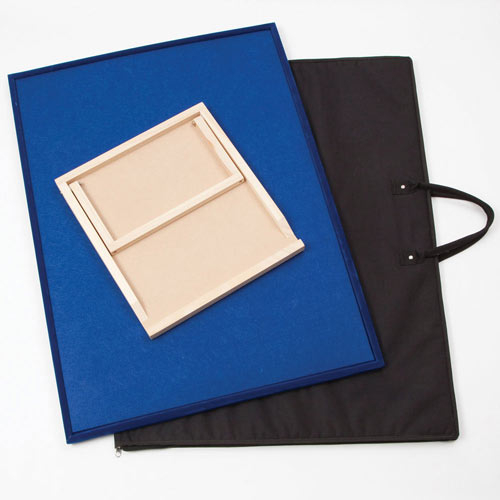 Puzzle Assembly Board with Easel & Carry Case 3 Piece Set - Medium