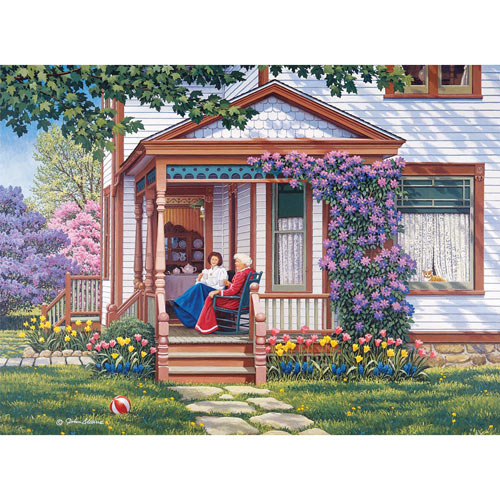 Sit a Spell 1000 Piece Jigsaw Puzzle