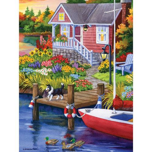 Lakeside Retreat 500 Piece Jigsaw Puzzle
