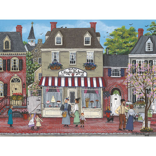 Afternoon Gossip 300 Large Piece Jigsaw Puzzle