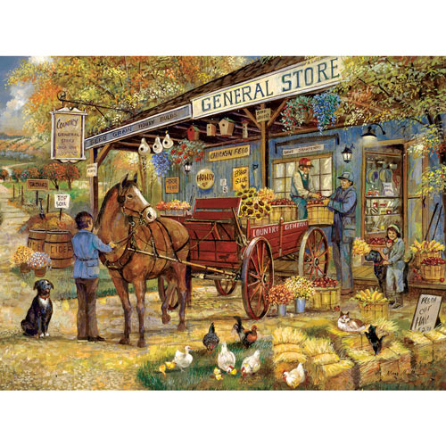 A Visit To The General Store 300 Large Piece Jigsaw Puzzle