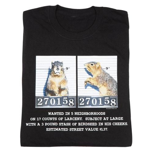 Wanted Mug Shot T-Shirt