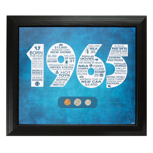 A Year To Remember Personalized Framed Design