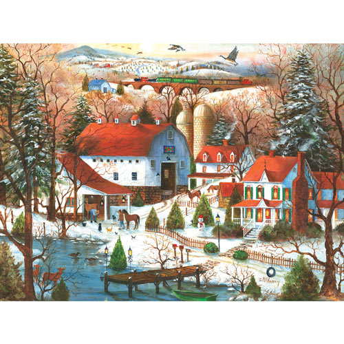 The Farrier's Visit 300 Large Piece Jigsaw Puzzle