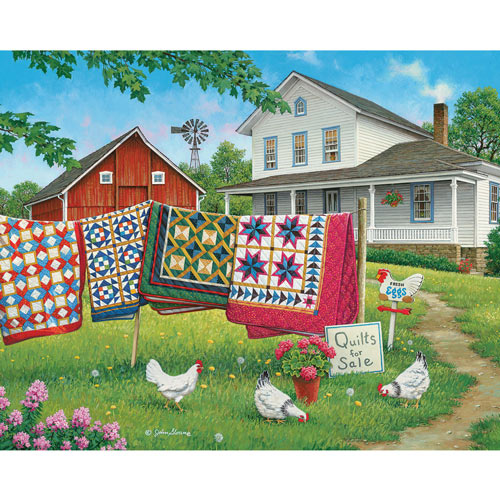 Fresh Eggs And More 300 Large Piece Jigsaw Puzzle