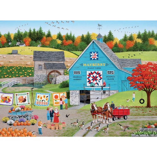 Bountiful Harvest 300 Large Piece Jigsaw Puzzle