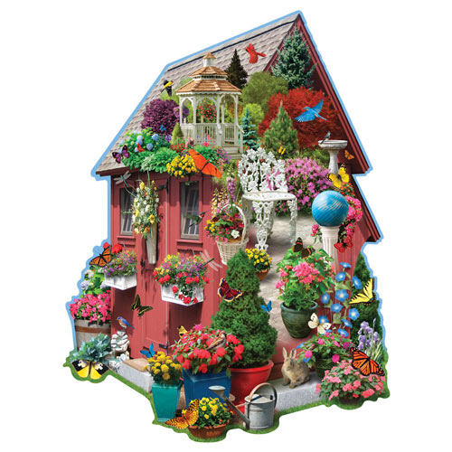 Garden Shed 300 Large Piece Shaped Puzzle