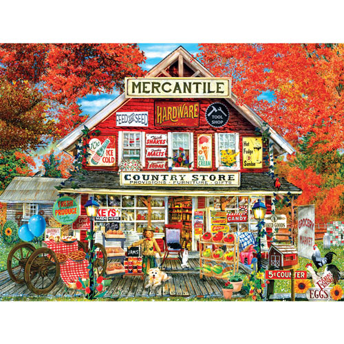 General Store 300 Large Piece Jigsaw Puzzle