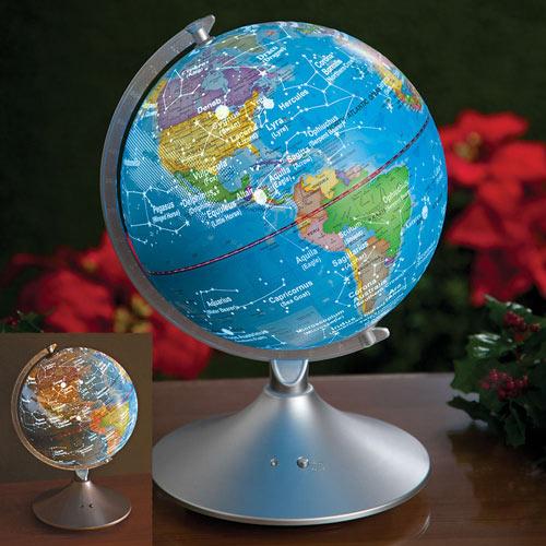 Illuminated Constellation Globe Light