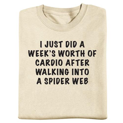 Cardio Spider Tee
