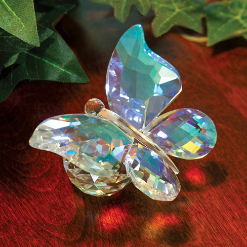 Iridescent Crystal Butterfly