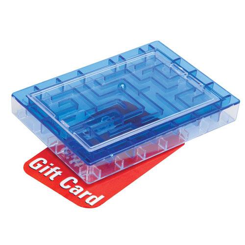 Gift Card Maze Blue Money Holder