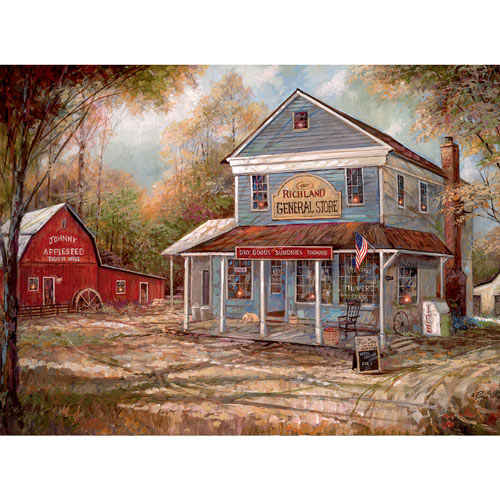 Richland General Store 1000 Piece Jigsaw Puzzle