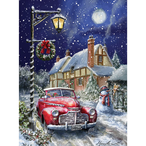 Almost Home for Christmas 300 Large Piece Jigsaw Puzzle