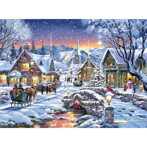 Tinsel Town 1000 Piece Jigsaw Puzzle