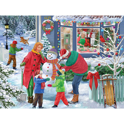 Before Christmas Dinner 300 Large Piece Jigsaw Puzzle