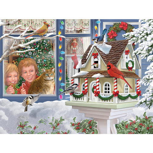 A Home For Christmas 300 Large Piece Jigsaw Puzzle