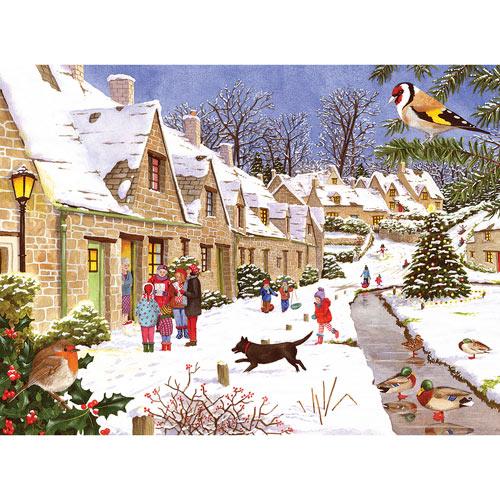 Winter Village 500 Piece Jigsaw Puzzle