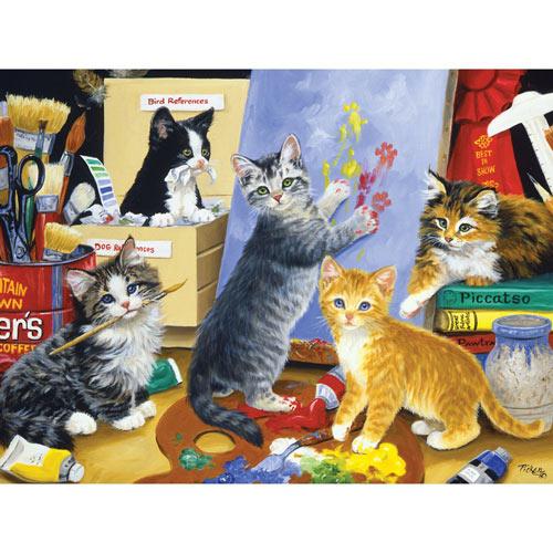 Studio Kittens 300 Large Piece Jigsaw Puzzle