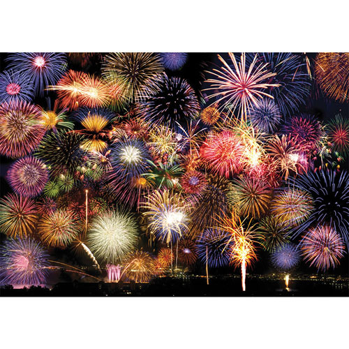 Fireworks Symphony 1500 Piece Giant Jigsaw Puzzle