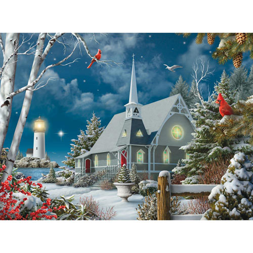 Guiding Lights 300 Large Piece Jigsaw Puzzle