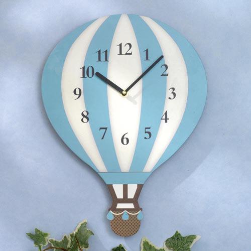 Hot Air Balloon Clock