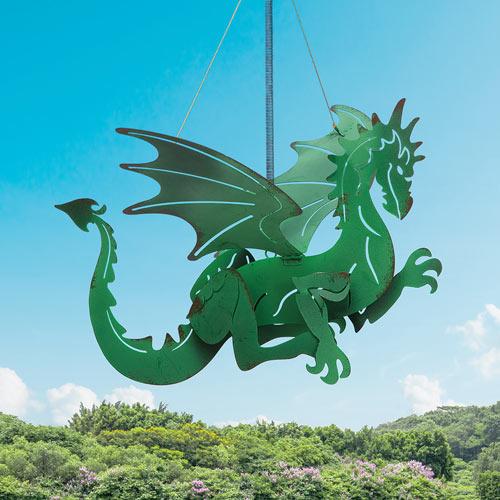 Flying Green Dragon