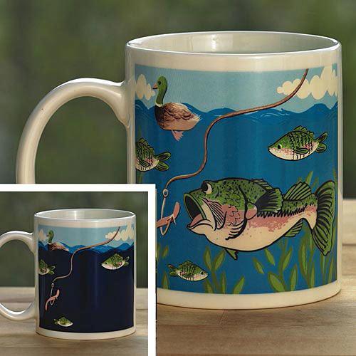 Color Changing Fish Mug