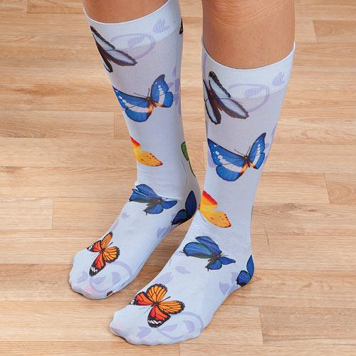 Majestic Butterfly Socks