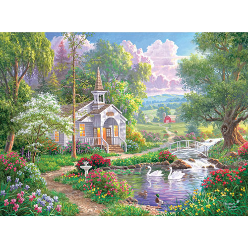 Joyful Chapel 1000 Piece Jigsaw Puzzle