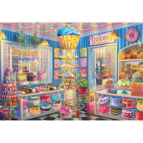 Main Street Bakery 2000 Piece Giant Jigsaw Puzzle