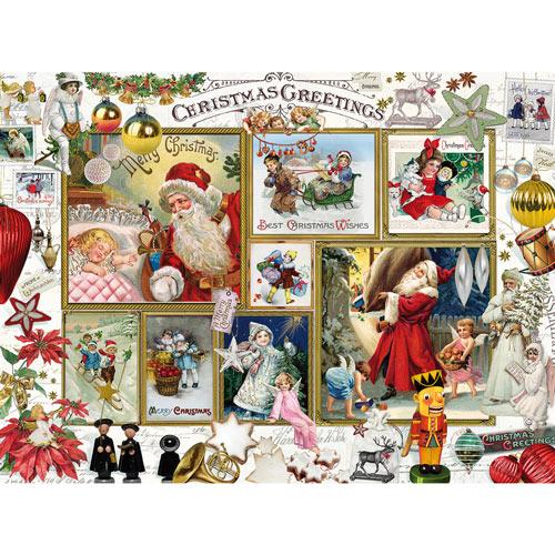 Christmas Greetings 1000 Piece Jigsaw Puzzle