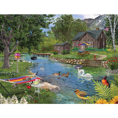 Summer Cabin 1000 Piece Jigsaw Puzzle