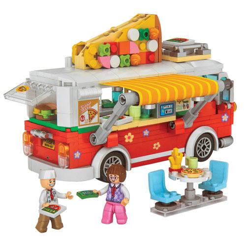 Pizza Food Truck 3D Block Puzzzle