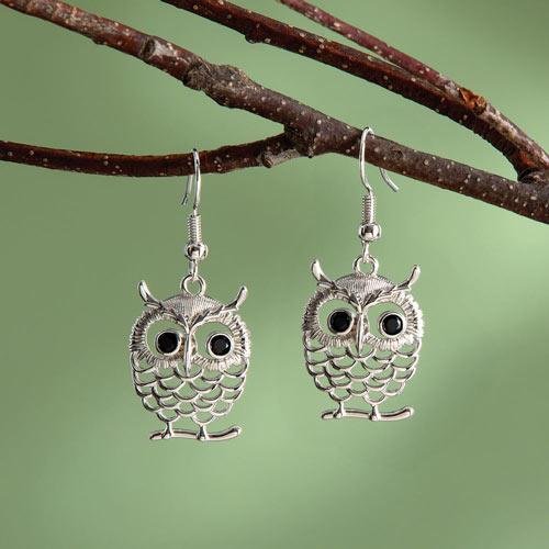 Owlet Earrings