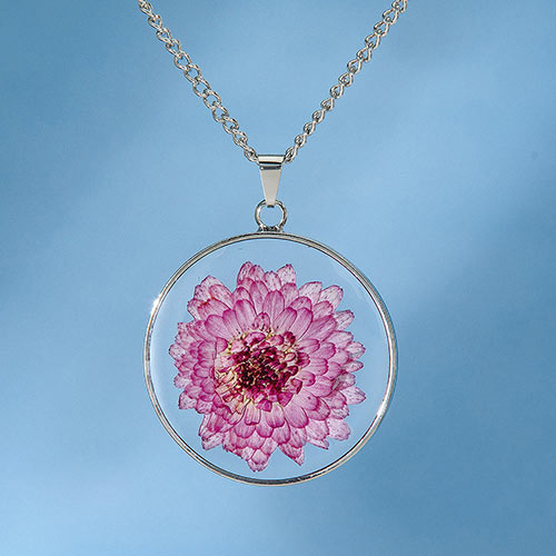 Birth Flower Necklace - November (Aster)