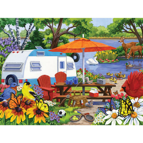 The Old Campground 1000 Piece Jigsaw Puzzle