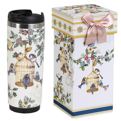 Insulated Birdcage Travel Mug