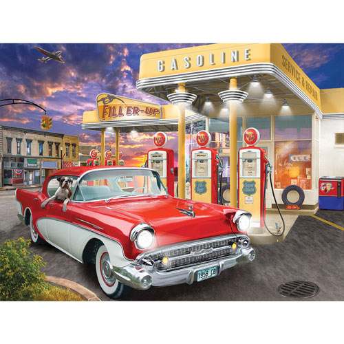 Fill'er Up 300 Large Piece Jigsaw Puzzle