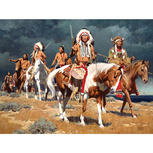 A Distant Omen 300 Large Piece Jigsaw Puzzle