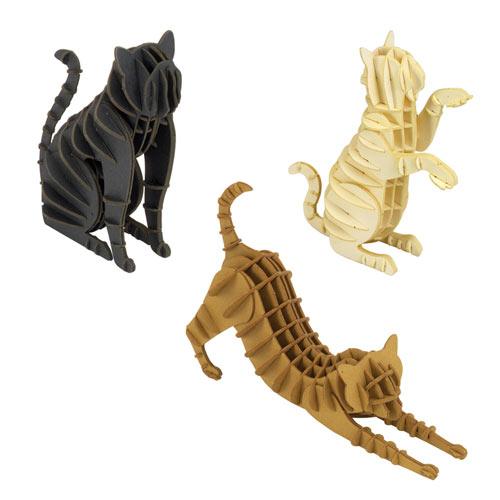 Set of Three Cat Puzzles
