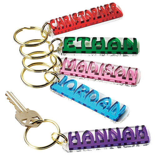 Whose Keys are these Personalized Keychain