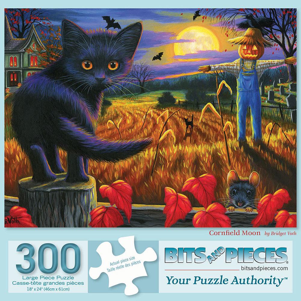 Cornfield Moon 300 Large Piece Jigsaw Puzzle
