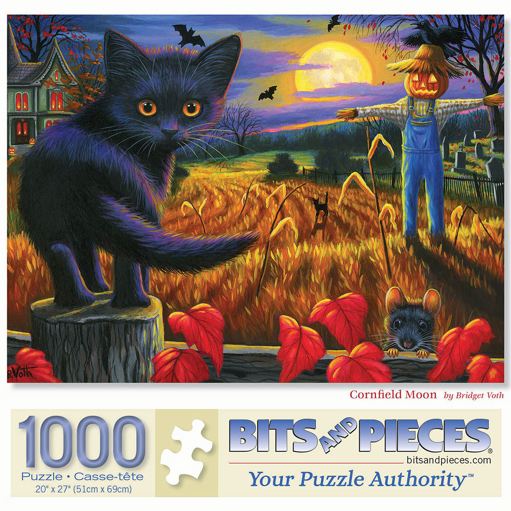 Cornfield Moon 1000 Piece Jigsaw Puzzle