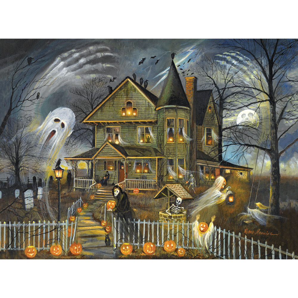 Haunted Haven 300 Large Piece Jigsaw Puzzle